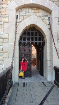 The Entrance to the winery , finally Found!